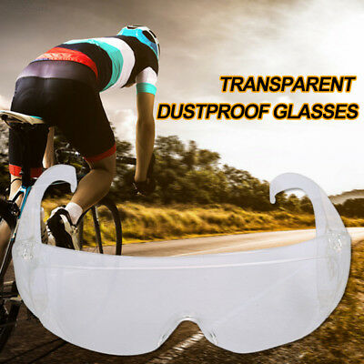 7C81 Windproof Safety Goggles Protector Medical Clear Safety Glasses