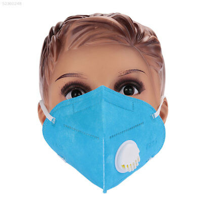 AA20 Blue Anti-Dust Mask Face Gas Filter Breathable Head Respirator