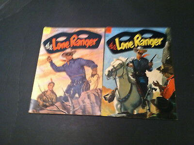 The Lone Ranger #72 & 73 Dell Comics 10 Cent Cover Price