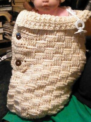 Baby Snuggle Cocoon Crocheted
