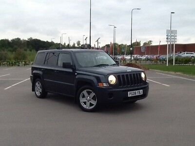 Jeep Patriot  2.0 crd 4x4 08 plate 6 speed hpi clear drives 100% very tidy jeep