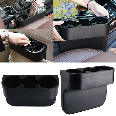 Universal Black Cup Holder Car Storage Drinking Bottle Can Van Mug Mount Stand