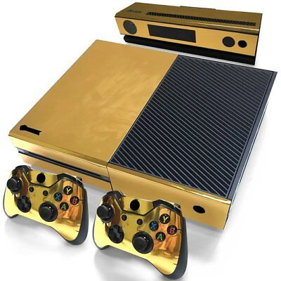 Vinyl Sticker Pattern Decals Skin for Xbox One Gold Glossy