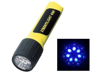 Streamlight 68212 4AA Propolymer LED Flashlight with Blue LEDs, Yellow