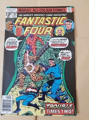 Fantastic Four 187 Oct 1977