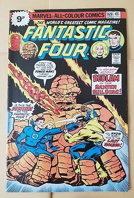 Fantastic Four 169  Apr 1976