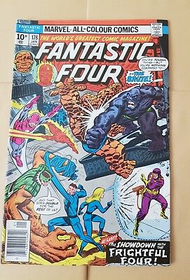 Fantastic Four 178 Jan 1977