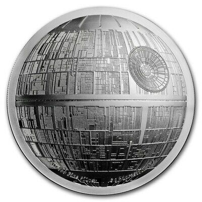 Niue -2018- Silver $5 Proof  Coin- 2 OZ  Silver Star Wars – Death Star