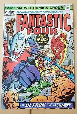 Fantastic Four 150  Sept 1974