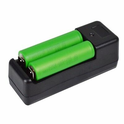2 SONY US 18650 VTC5 2600mAh 30A High Drain DT Li-ion Battery +Charger
