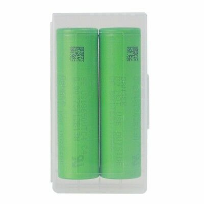 2Pcs US18650VTC5 18650 VTC5 2600 Mah 30A 3.7V  Li-ion Battery w/ Case for Vape²