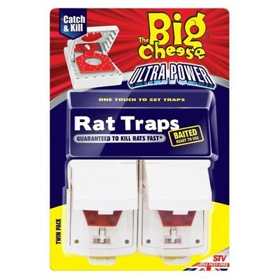 Ultra Power Rat Traps - Pack of 2 By The Big Cheese