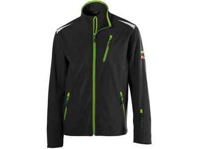 FORTIS Herrenjacke 24 black-lime green Gr. XL