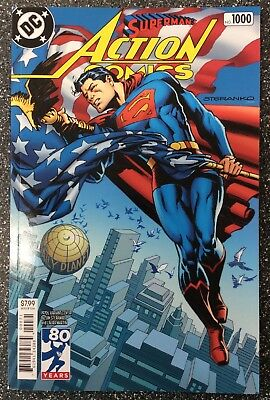 Action Comics #1000 (2018) 1970's Variant Cover By Jim Steranko