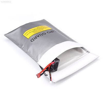 242E LiPo Lithium Battery Fireproof Bag Charging Protection Pouch Sack 23x30CM