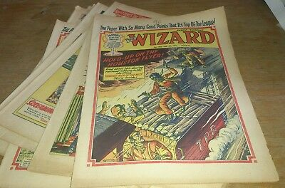 8 Wizard Comics 1961/62