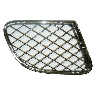 Bentley continental gt gtc speed right bumper grill – chrome