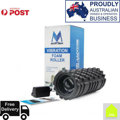 Foam Roller 33*14cm Electric Massage Foam Roller Rechargeable Vibrating Pilat...
