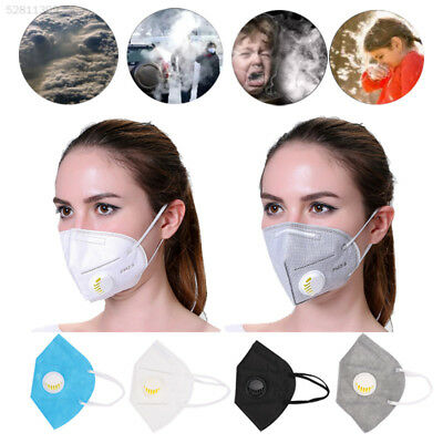 2FB4 Black Anti-Dust Mask Gas Filter Anti-Pollution Breathable Riding Mask