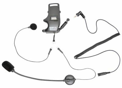 Sena SMH-A0304 Motorcycle/Bike Helmet Clamp Kit Earbuds Attached Boom/Wired Mic