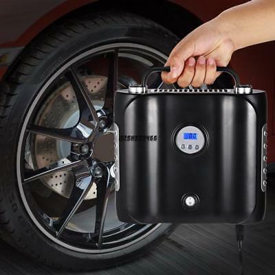 180W 12V DC Tire Air Compressor Pump Portable Digital Auto Tire Inflator IXH4