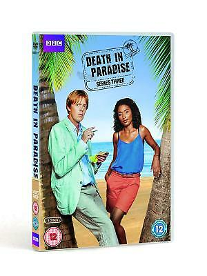 Death In Paradise - Series 3 - Complete (DVD, 2014, 3-Disc Set) New & Sealed