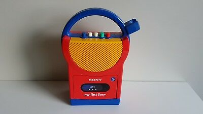 My First Sony Vintage 1991 TCM-4500 Cassette Player Recorder