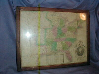 RARE 1835 FRAMED map of United States by James Webster ... Framed Map Of United States on cartoon united states, digital map of united states, central plains map united states, framed antique maps, mounted maps of united states, geographic maps rivers united states, paintings of united states, framed usa map, printable map of united states, inset map of the united states, framed historical texas maps, world of united states, framed us map with pins, drawings of united states, framed vintage maps, usa wall maps united states, rand mcnally map of the united states, large map of united states, map of the mountain ranges in united states, framed maps wall,