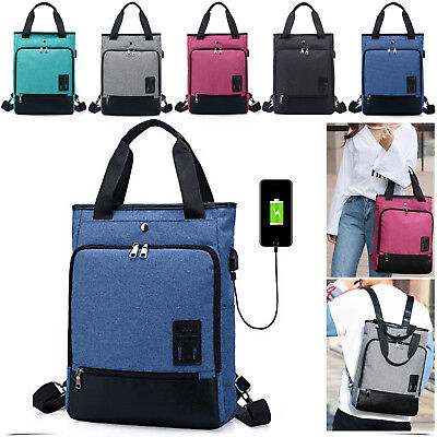 Fashionable PC Bag Laptop Bag Carry Case Notebook With USB Charging Port