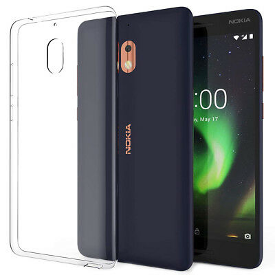 For Nokia 2.1 (2018) Case Clear Slim Soft TPU Bumper Cover Transparent Gel Skin