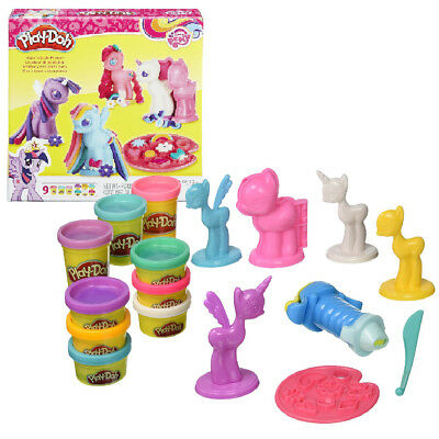 Play Doh My Little Pony Make N Style Ponies Play Set Hasbro Kids Activity