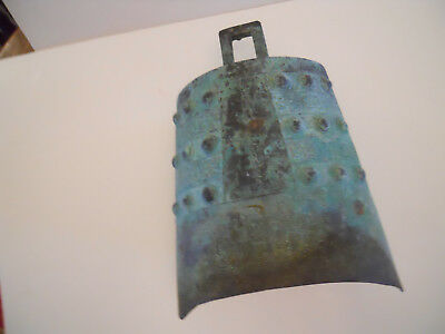 Ancient  Chinese Hanging Zhong Bian  Bell .This bell is made of bronze.