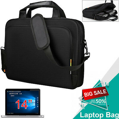 "Executive 14"" Laptop Notebook Flight Business Briefcase Travel Carry Case Bag UK"