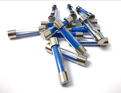 PACK OF 10PK 3A AMP GLASS FUSES FUSE CAR AUTO VAN BOAT MARINE 29 x 6mm