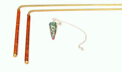 Intuitive Doodlebug Dowsing Rod Set includes 2 Divining Rods with Enamel Coated