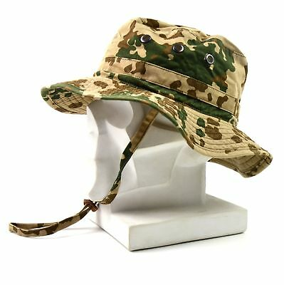 cc8f2c54c49 Genuine ORIGINAL GERMAN ARMY BOONIE HAT Desert field tactical military cap  men s