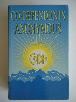 Co-dependents Anonymous first edition 1st printing July 1995 NF CODA Big Book AA