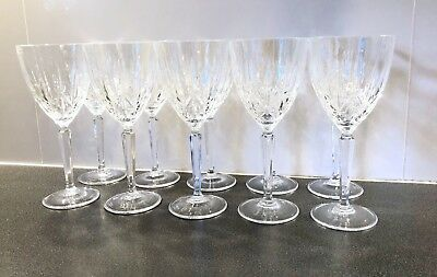 waterford marquis crystal glasses x 18 (10 x Wine 8 x Champagne) $300 RRP