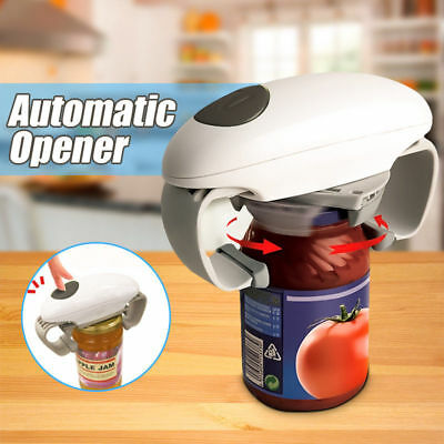 Kitchen Automatic Grip Hands Free Electric Jar Opener - Easy Touch Button NEW!!