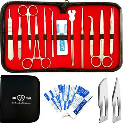 22 Pcs Advanced Dissection Kit For Anatomy and Biology Medical Students With - -