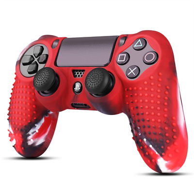 PS4 / Slim / Pro Controller Skin Grip Cover Case Protective Soft Silicone Gel US