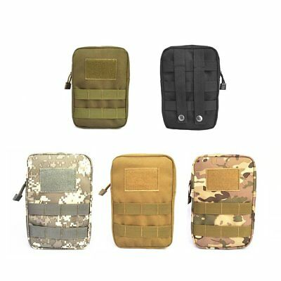 Multifunction Tactical Bag Zippered Waist Bag Outdoor Backpack AttachmentBR
