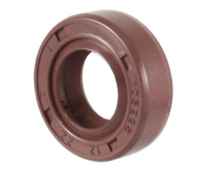 Viton Coated Metal Case Oil Shaft Seal 20X42X7mm TC EAI Double Lip w// Spring