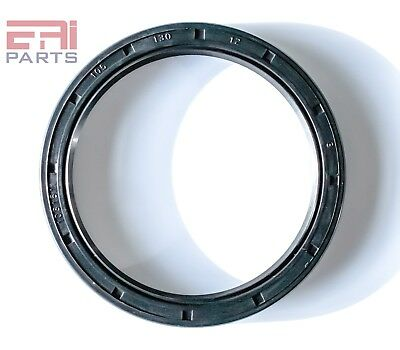 Oil and Grease Seal TC 105X130X12 Rubber Double Lip w/ Spring 105mmX130mmX12mm.