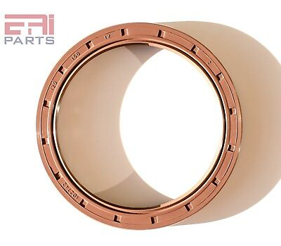 Oil Seal 120X150X12mm TC |EAI Double Lip w/ Spring. Viton Coated Metal Case