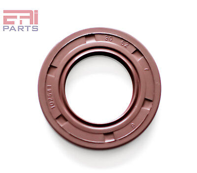 EAI Metric Oil Shaft Seal 30X48X7mm Dust Grease Seal TC Double Lip w// Spring