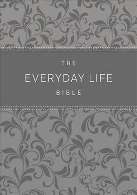 Everyday Life Bible : Amplified Old & New Testament, Grey Euroluxe, Fashion E...