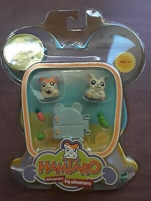 NEW Hamtaro & Oxnard Little Hamsters Big Adventures Hasbro 2000 NIB Ham Ham