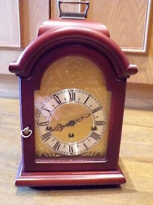 Franz Hermle Westminster chimes mantle clock, made in Germany