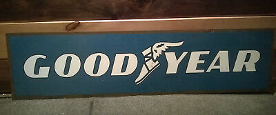 Goodyear Tire Sign - double sided